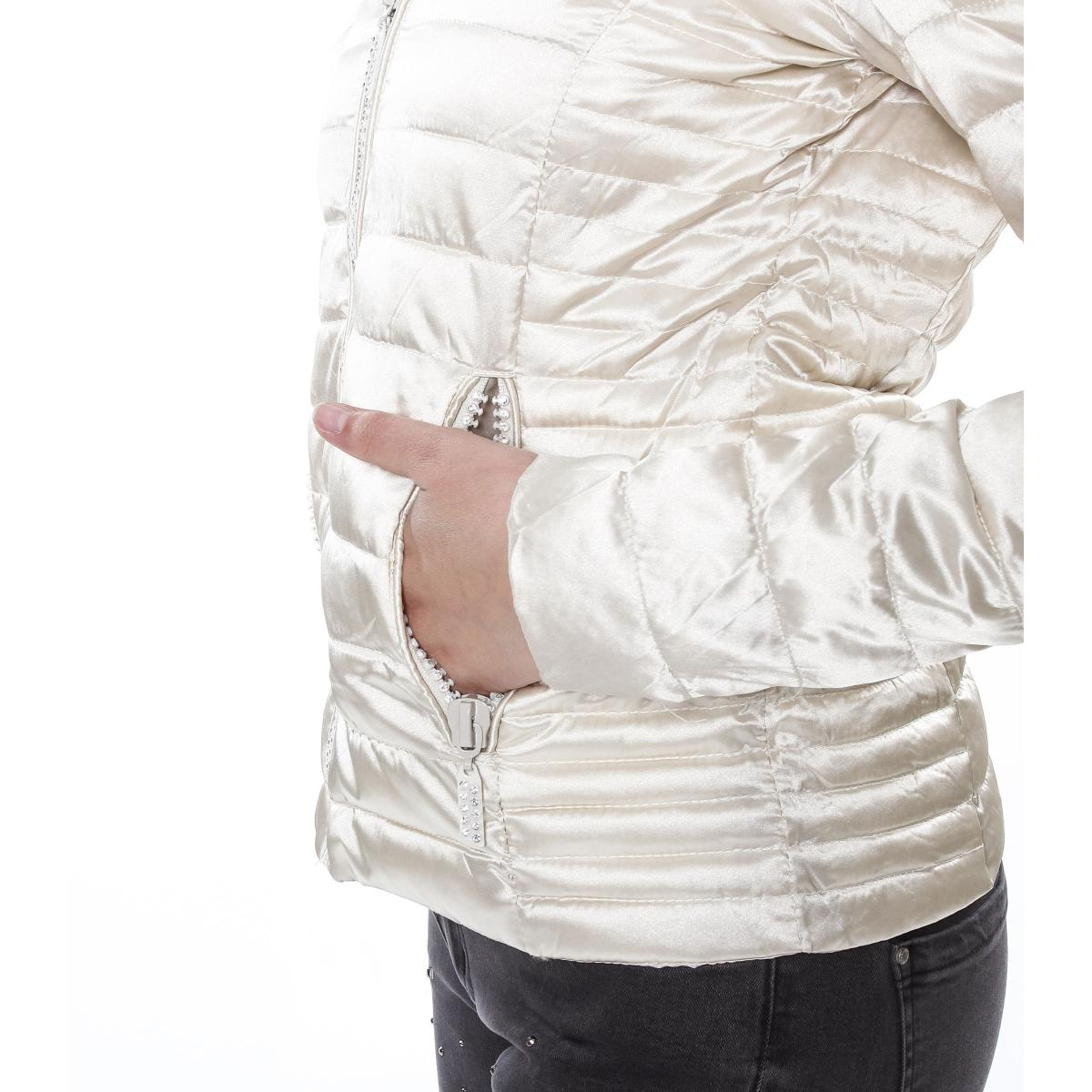 Piumino moda 100 grammi con glitter - donna