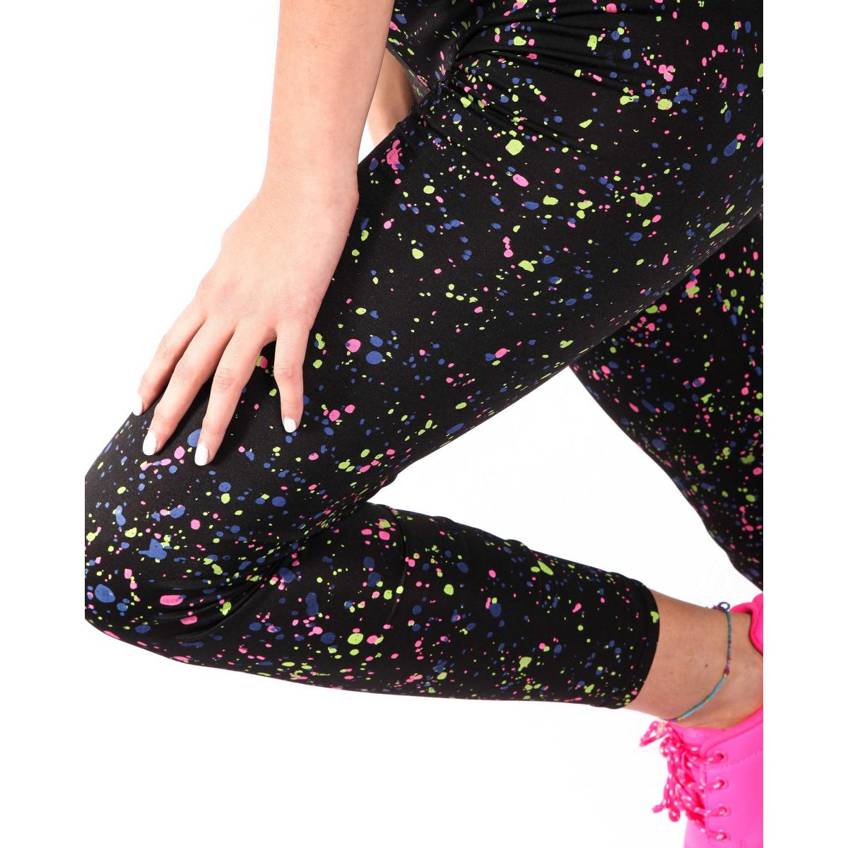 Completo fitness fluo - donna