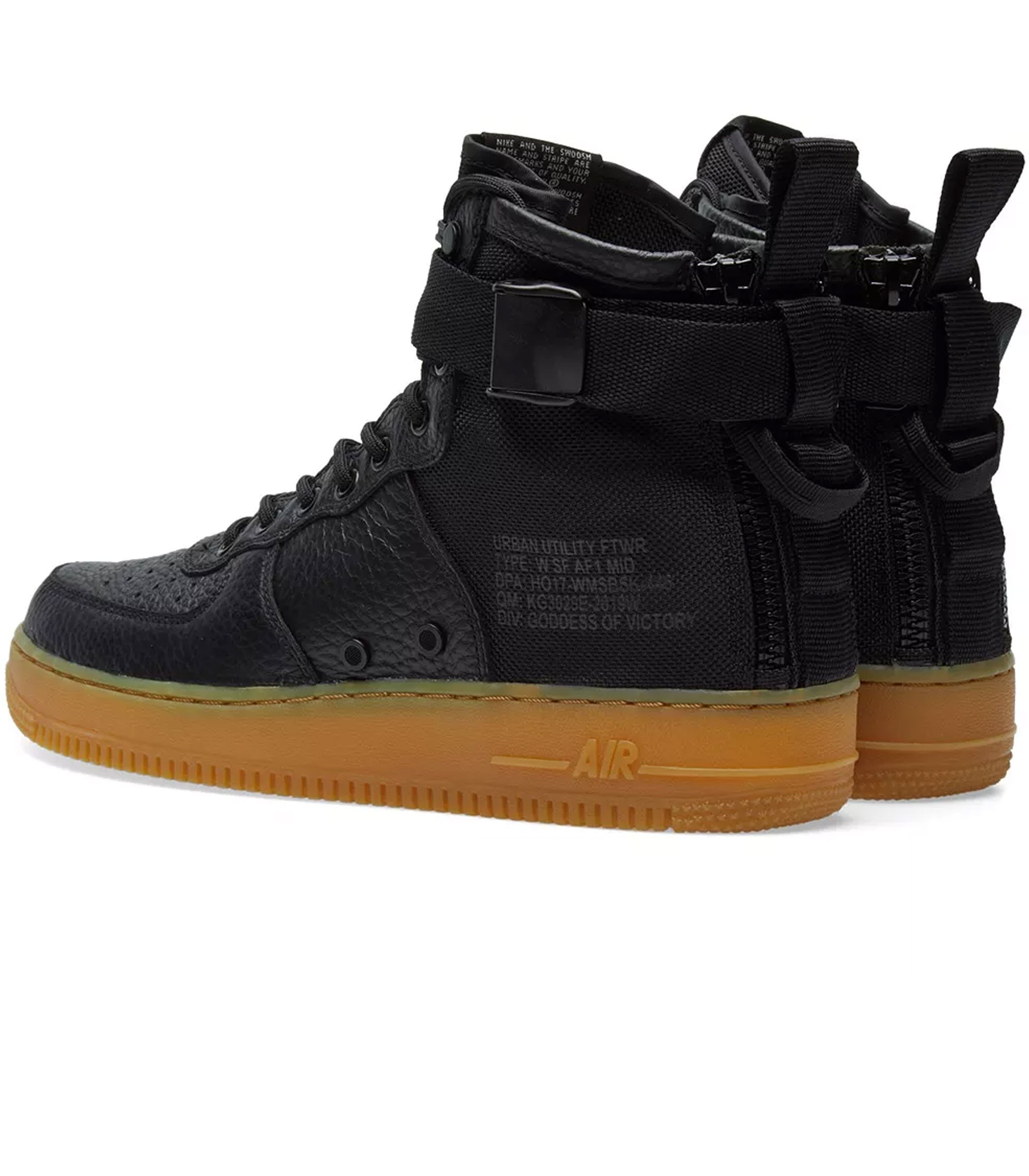 scarpe donna nike w sf air force 1 mid aa3966