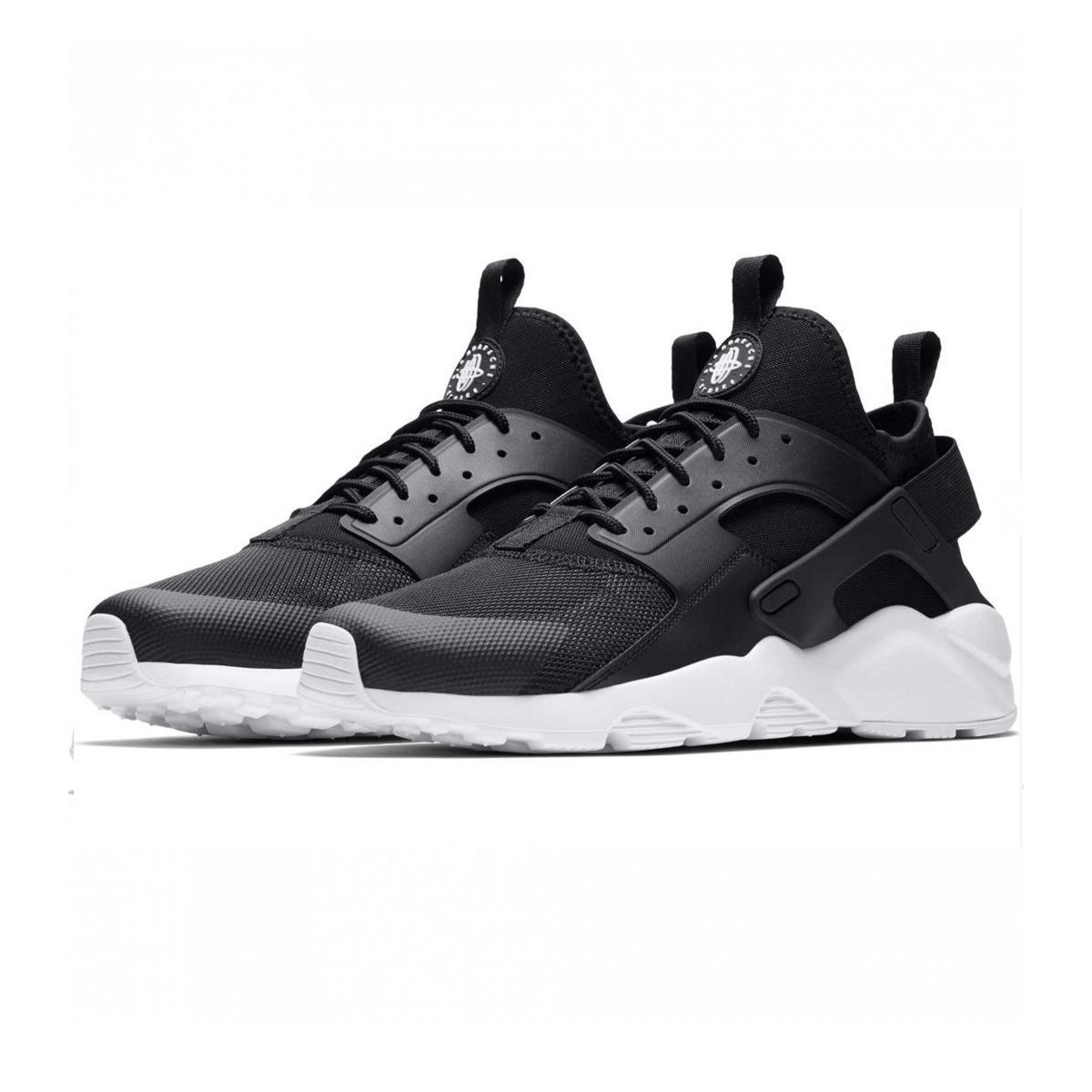 Scarpe Nike Air Huarache Run Ultra Nero Bianco Uomo 819685-016