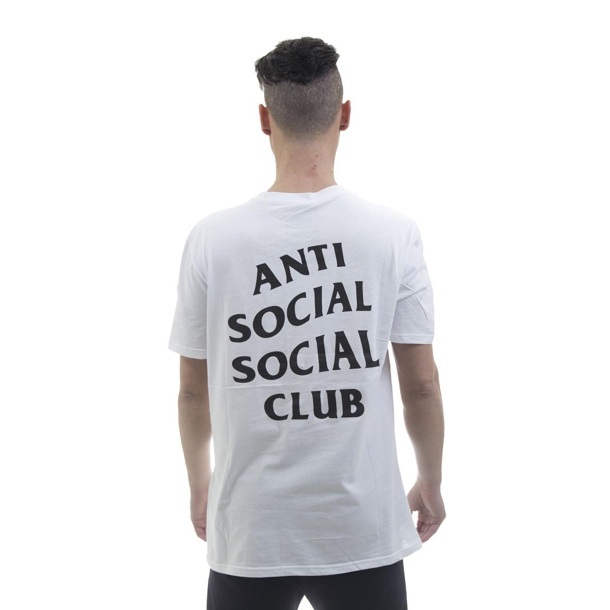T-shirt Anti Social Social Club Logo Tee 2 - uomo