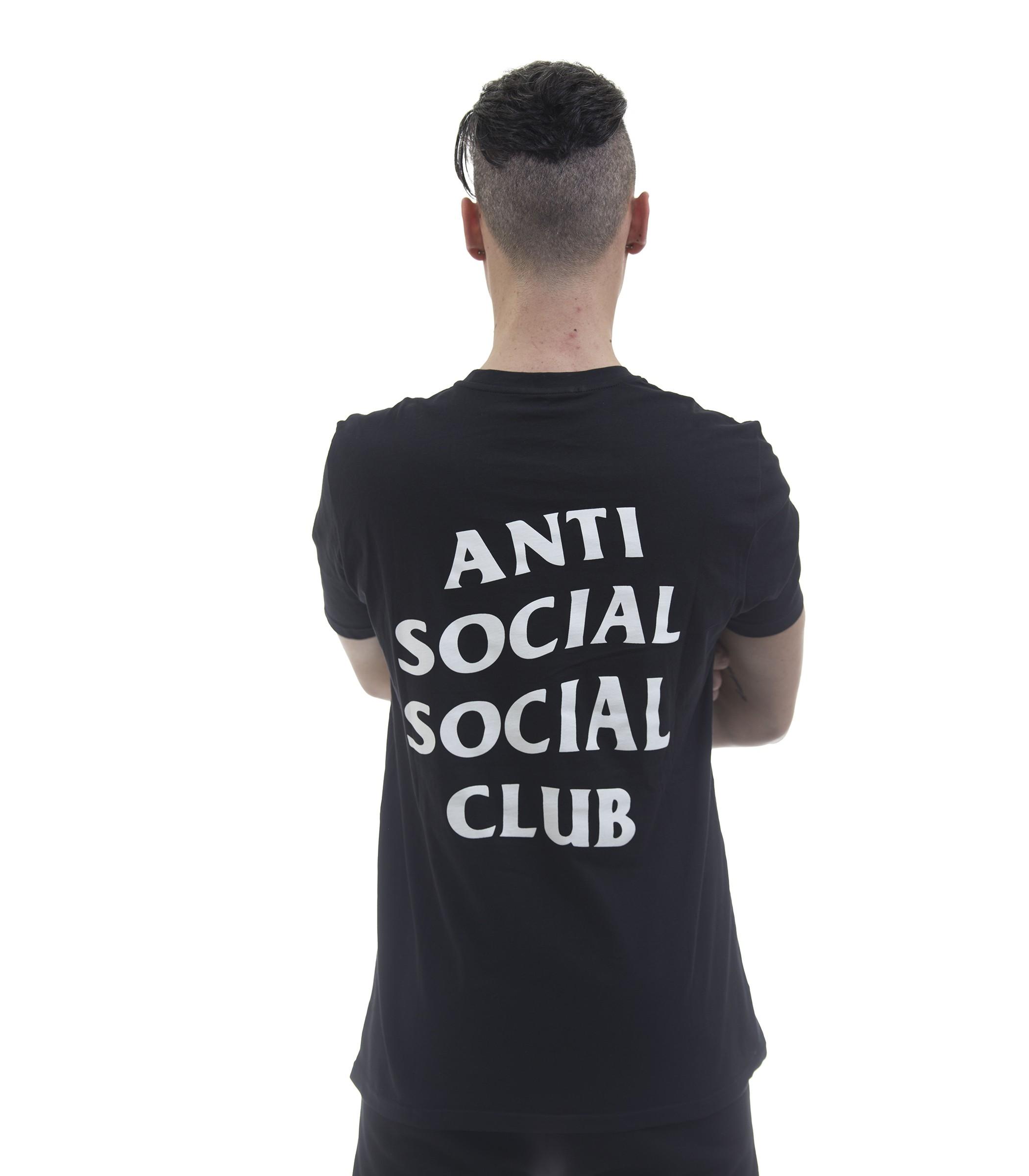 6508fbf62 T-shirt Anti Social Social Club Logo Tee 2 - uomo