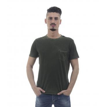 "T-shirt con taschino ""Replay"" - uomo"