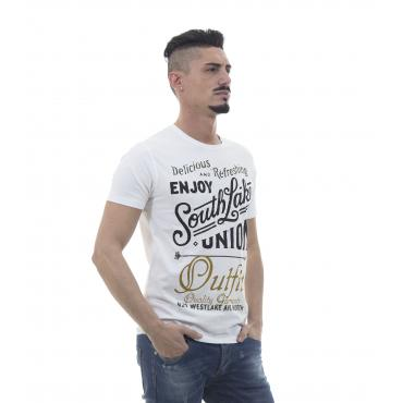 "T-shirt con stampa ""Outfit"" SouthLake - uomo"