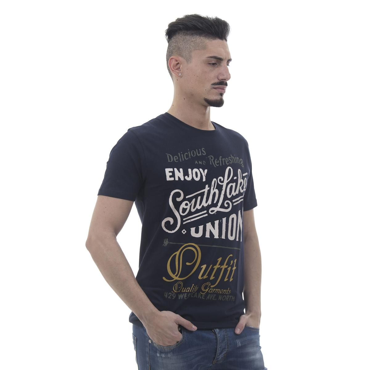 "T-shirt ""Outfit"" con stampe SouthLake - uomo"