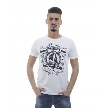 "T-shirt ""Outfit"" con stampe USA - uomo"
