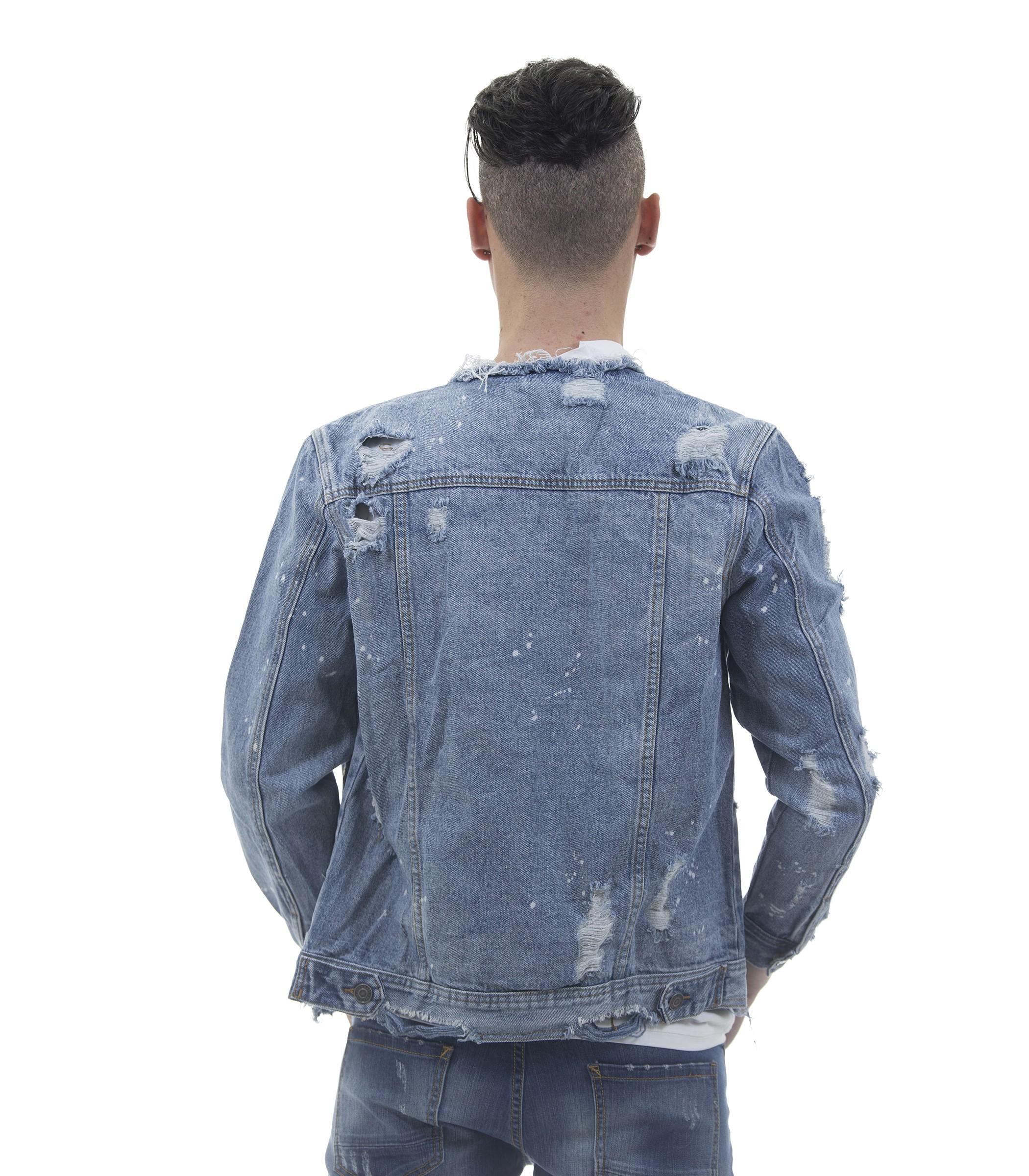 Giubbino jeans uomo 2017