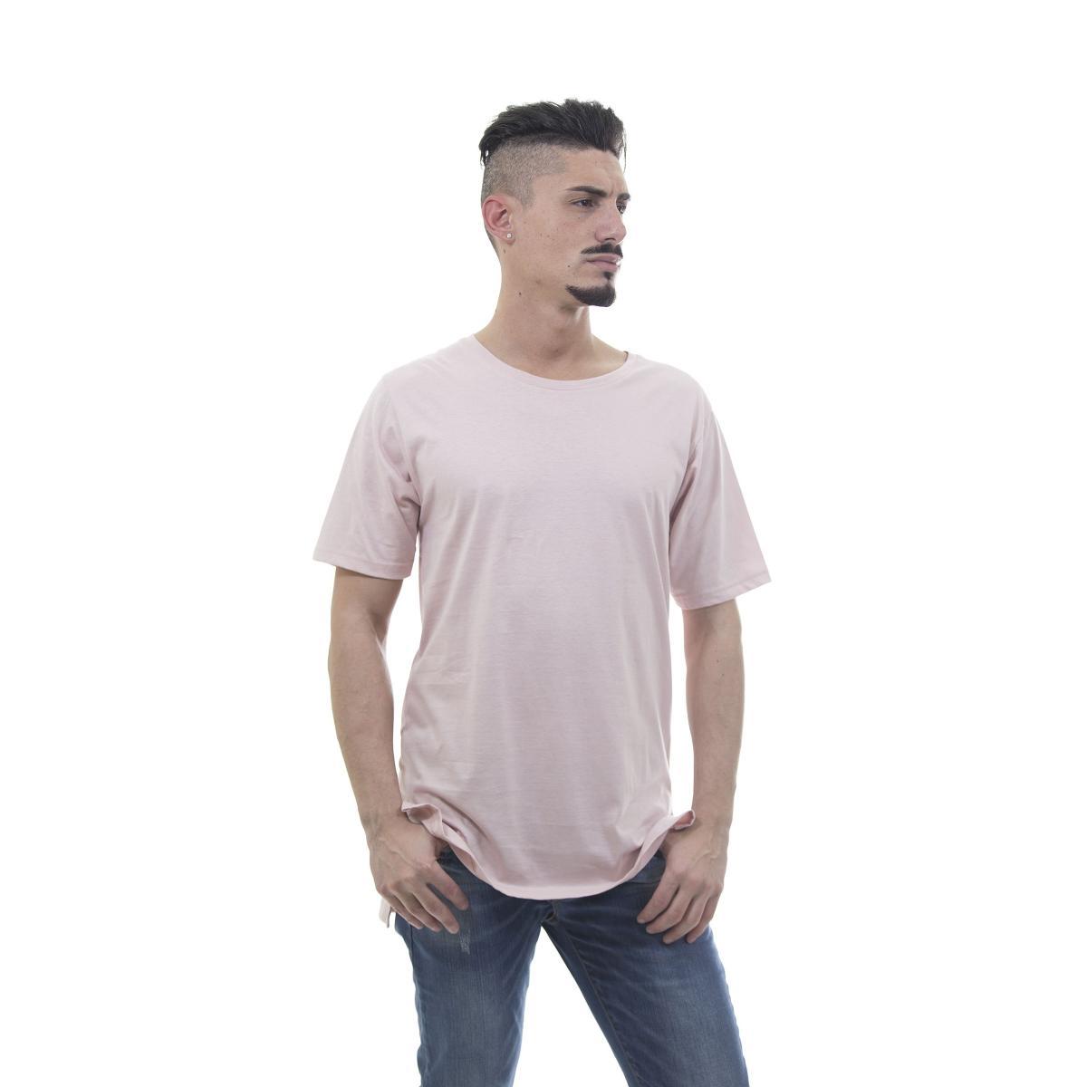 "T-shirt ""Mod"" lunga con spacchi laterali - uomo"
