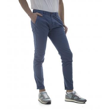 Pantaloni chinos regular fit tasche america - uomo