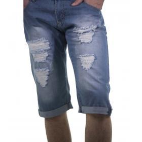 Bermuda di jeans da uomo cinque tasche - rif.MK3026
