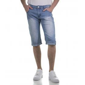 Bermuda di jeans da uomo cinque tasche - rif.MK3023