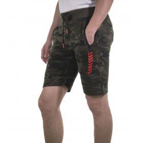 Pantatuta shorts da uomo mimetico con tasche laterali - rif.F19112