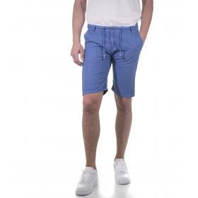 Bermuda shorts in cotone da uomo con laccio in vita - rif.M3311