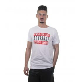 "T-shirt uomo ""Parental Advisory Explicit Content"" originale -rif.AD120U"