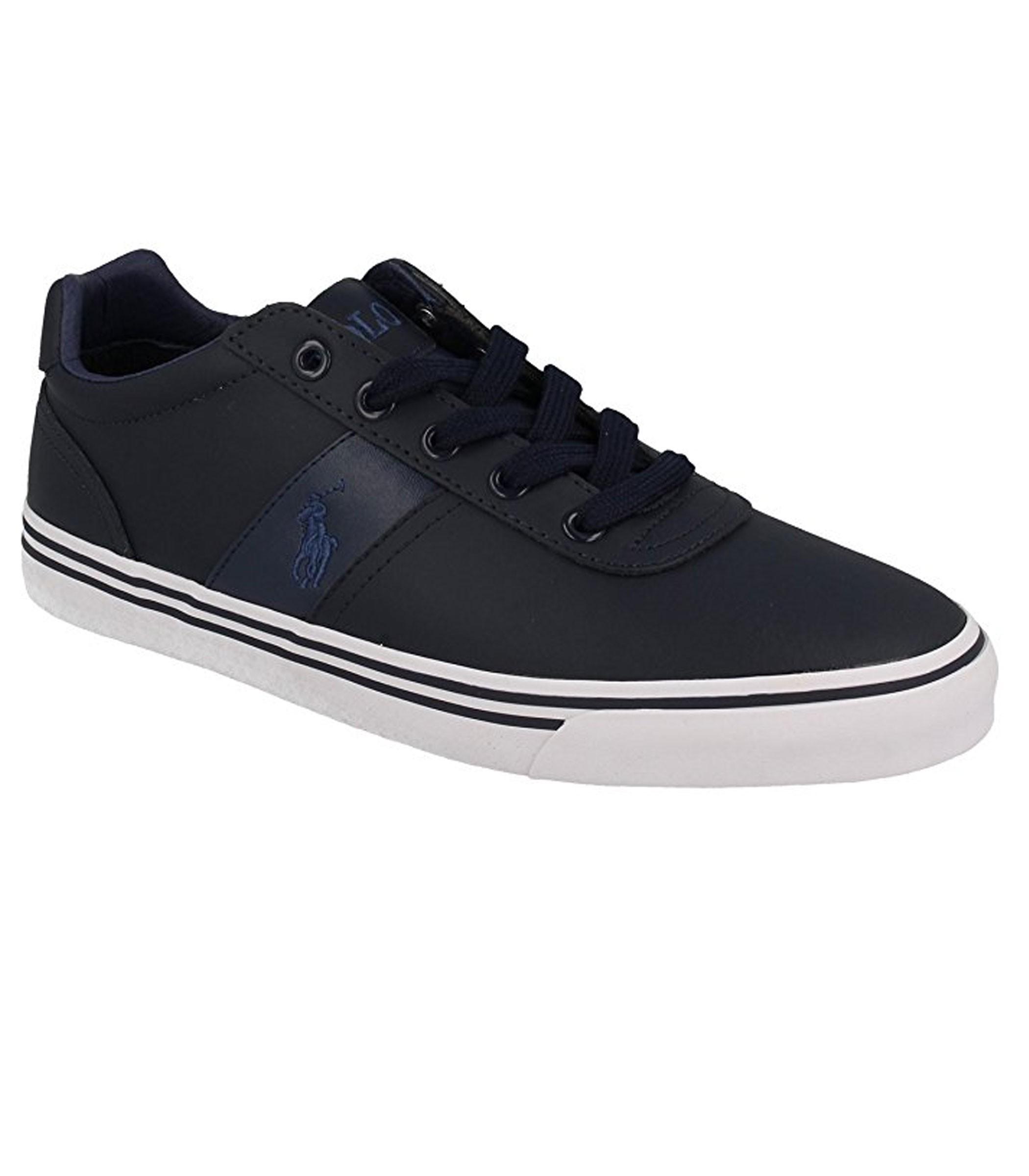 Scarpe Polo Ralph Lauren modello Hanford Blu sneakers basse ... 9f597c055a0