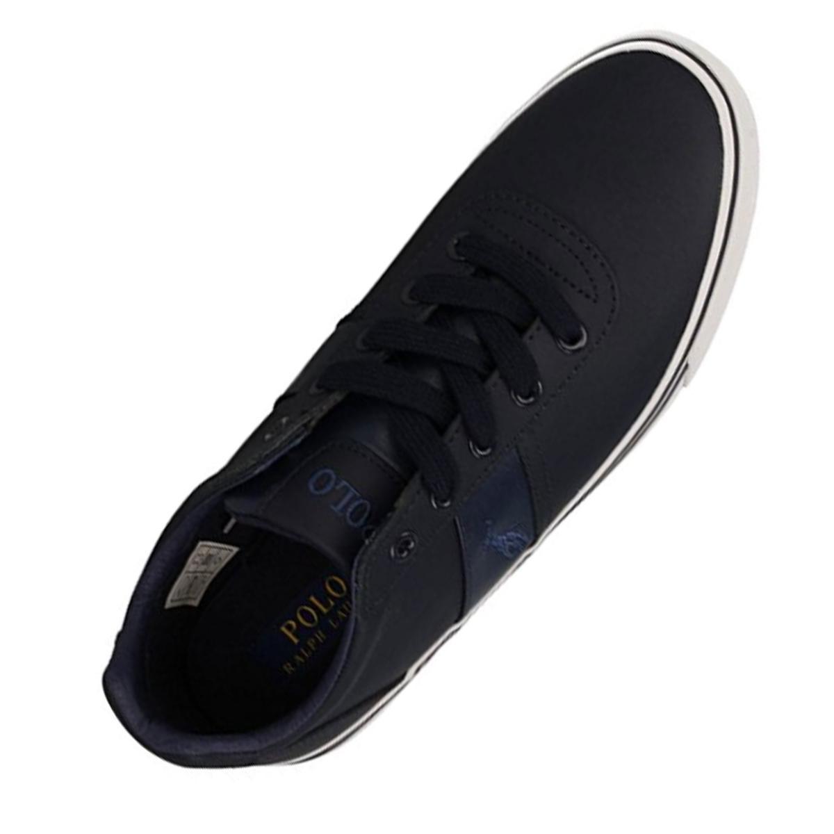 Scarpe Polo Ralph Lauren modello Hanford Blu sneakers basse