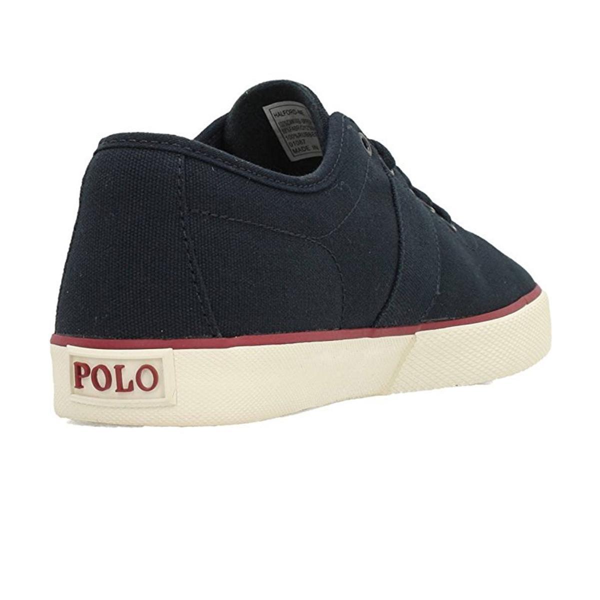 Scarpe Polo Ralph Lauren Halford Navy Blue sneakers basse