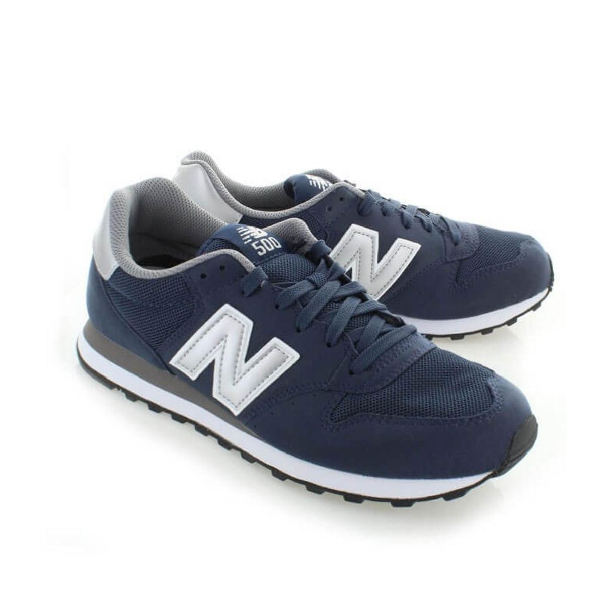 Scarpe da Ginastica New Balance Classics traditionnel Blu Navy mod. GM500NAY