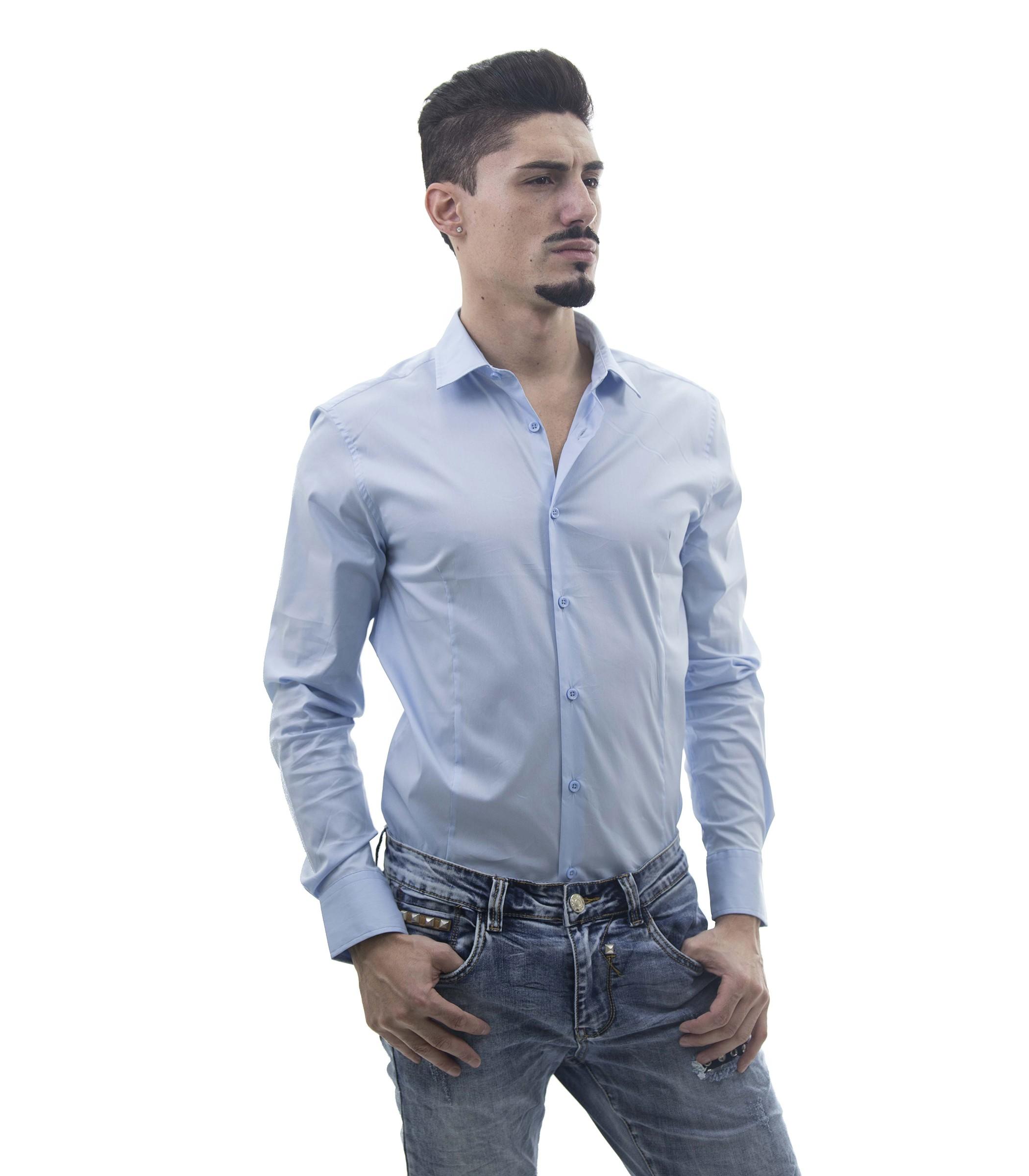 Camicie Spalle Spalle Uomo Camicie Slim Slim Spalle Slim Uomo Camicie RL54jA