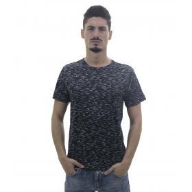 T-Shirt da uomo fantasia in tessuto sintetico