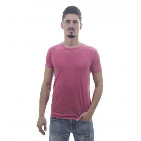T-Shirt da uomo tessuto jersey in puro cotone