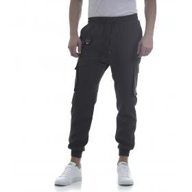Pantaloni da uomo cargo con laccio