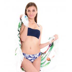 Costume mare da donna bikini a a fascia slip brasiliana 2 pezzi