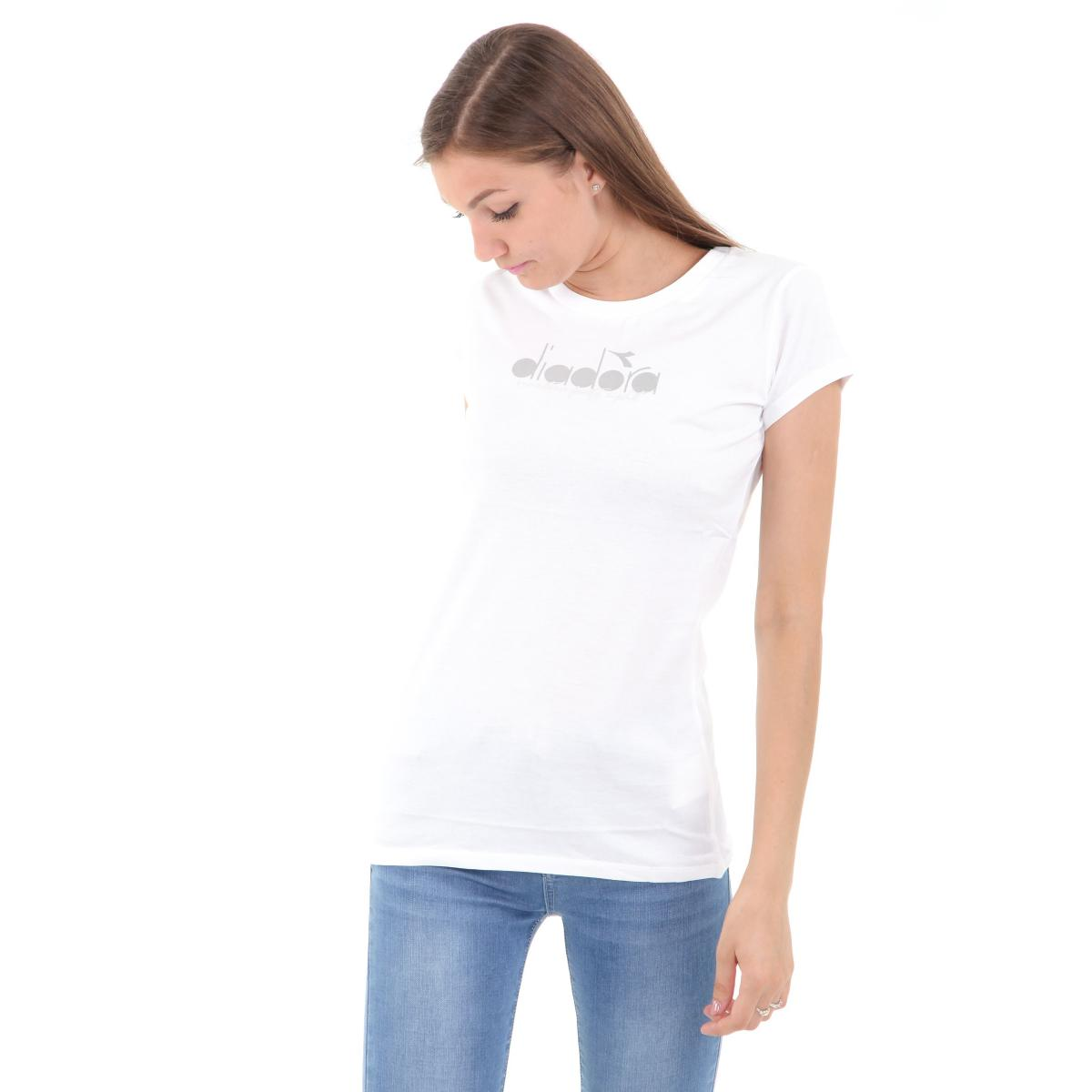 T-shirt Diadora con stampa da donna