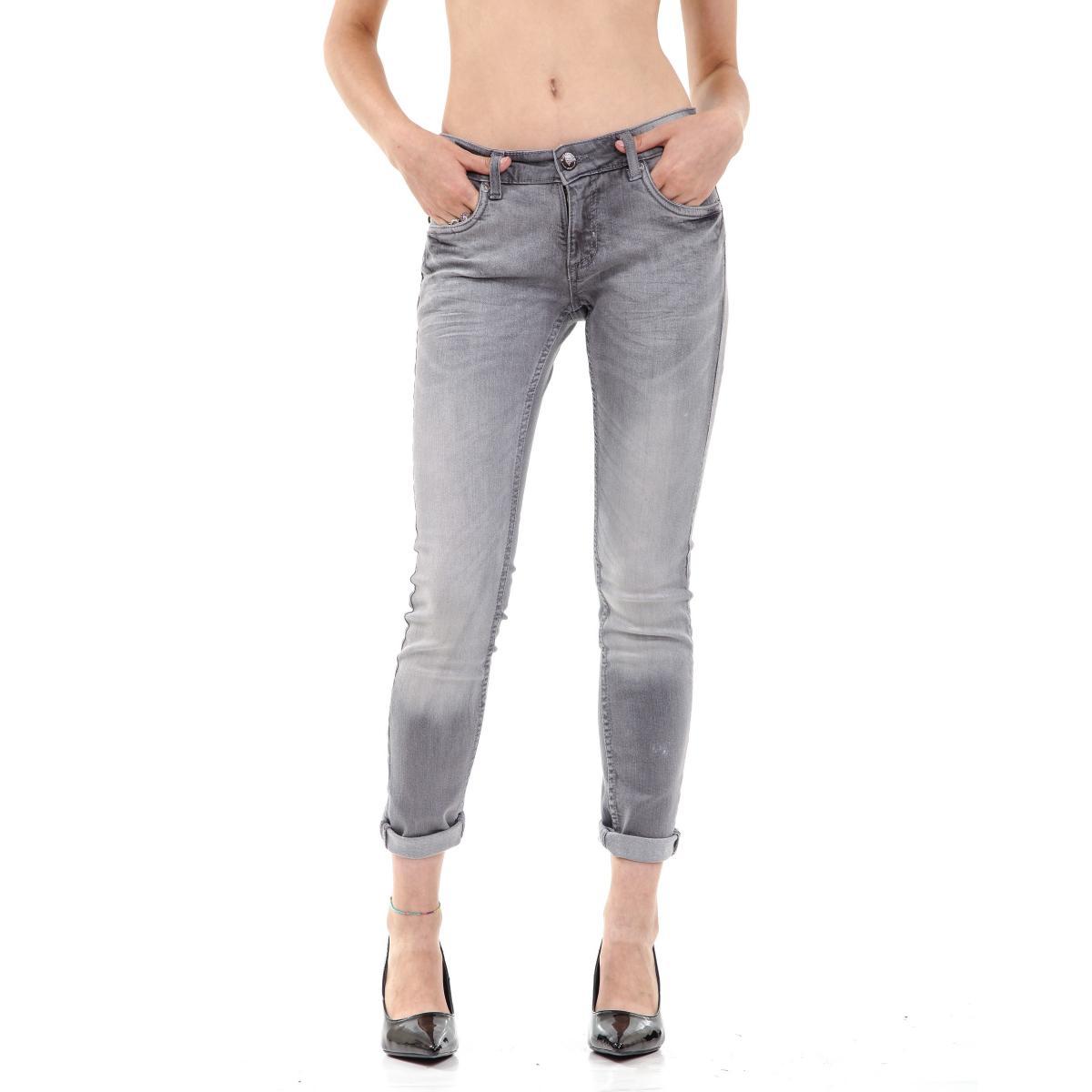 "Pantalone Jeans ""RumJungle"" originale da donna cinque tasche"