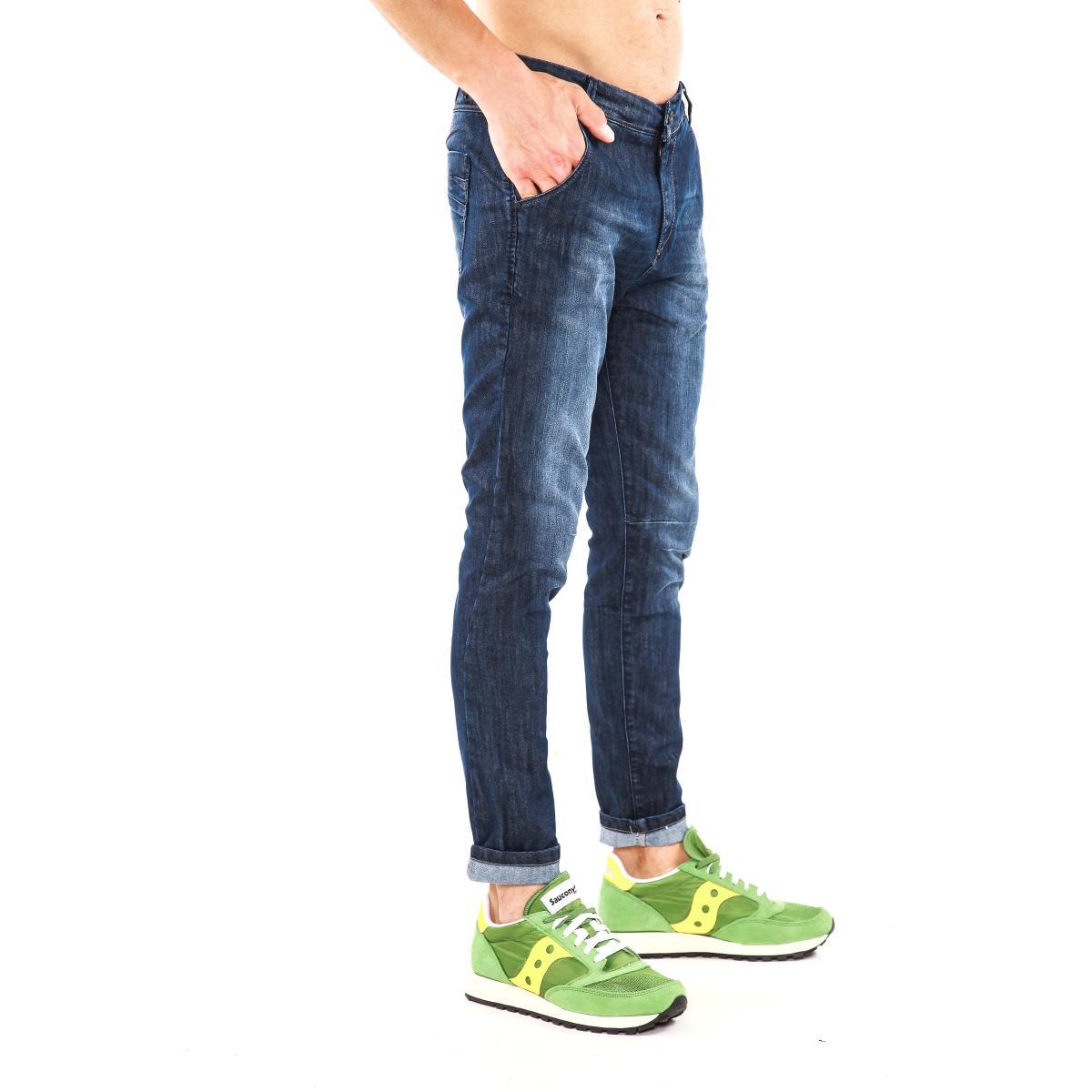 """Pantaloni jeans """"DATCH"""" da uomo cinque tasche"""