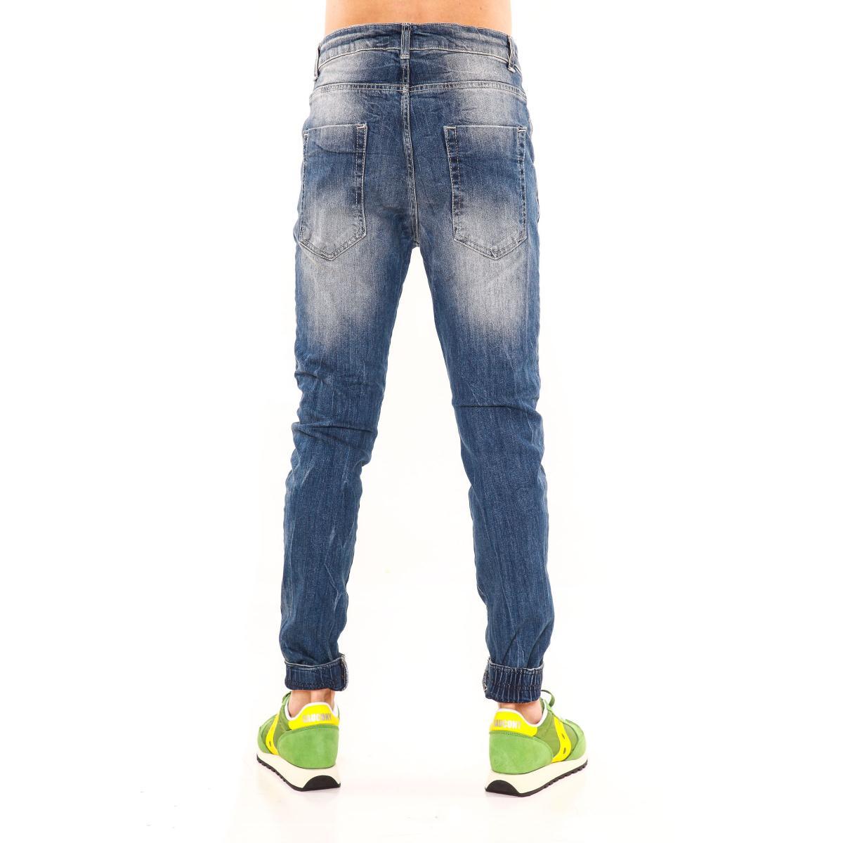 """Pantaloni Jeans """"RumJungle"""" originale da uomo cinque tasche"""