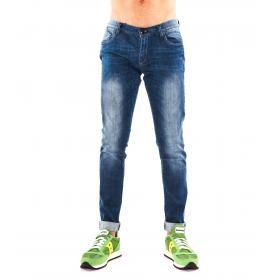 """Pantaloni Jeans """" Datch"""" da uomo cinque tasche effettuo sfumato"""