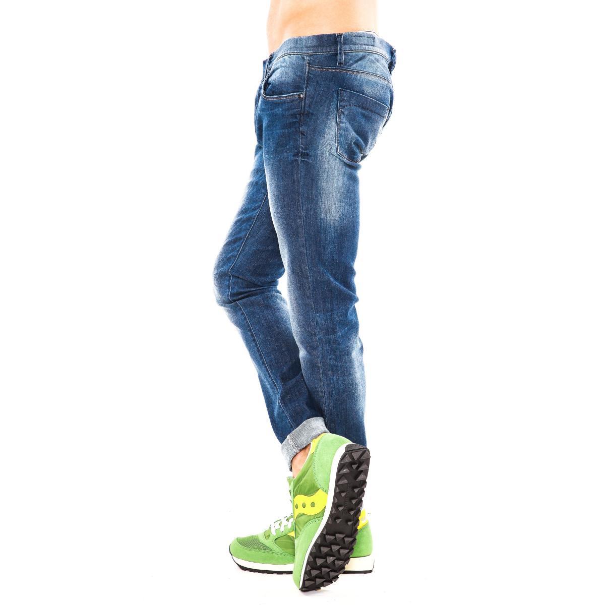 """Pantaloni Jeans """" Datch"""" da uomo cinque tasche"""