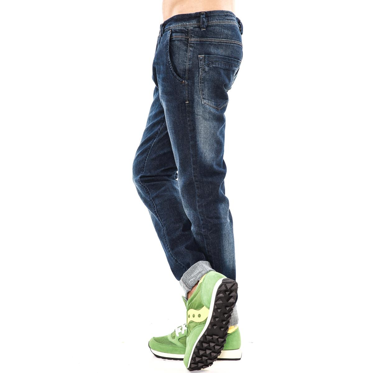 "Pantaloni Jeans ""DATCH"" da uomo tasche america"