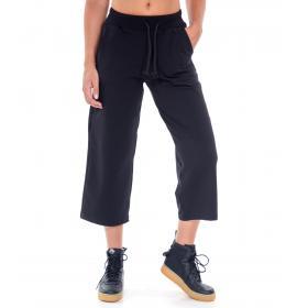 """Pantaloni tuta a 3/4 """"Vetements"""" con laccio in vita e tasca posteriore da donna Rif. V087"""