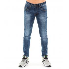 Pantaloni Jeans da uomo Denim blue 5 tasche