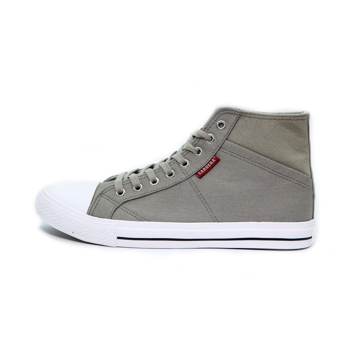 "Scarpe Sneakers ""Carrera"" Alte Da Ginnastica in Tela Grigia da Uomo"