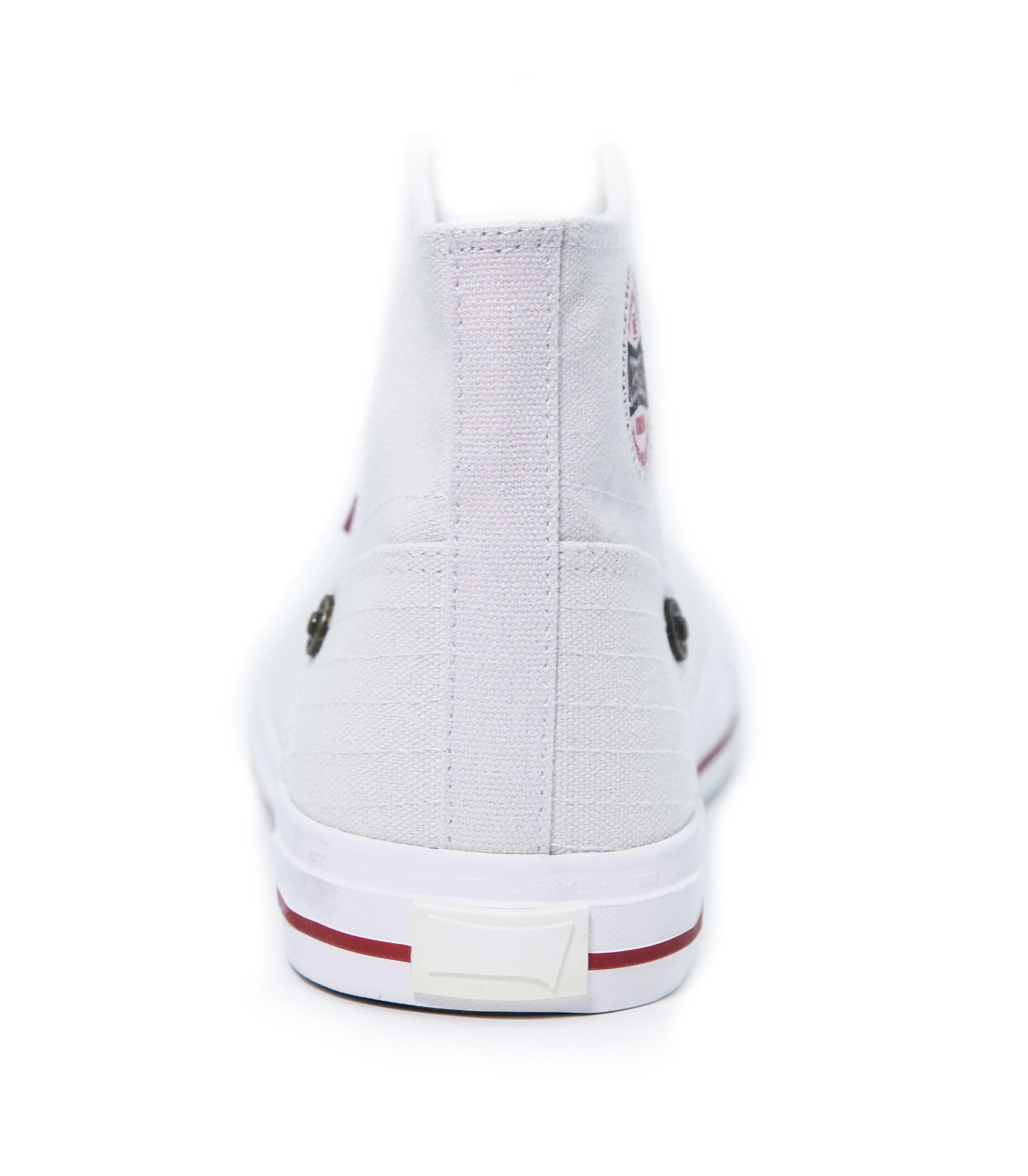 Bianca Tela Alte Scarpe Ginnastica Da Carrera Sneakers In Uomo x0wH7q6w