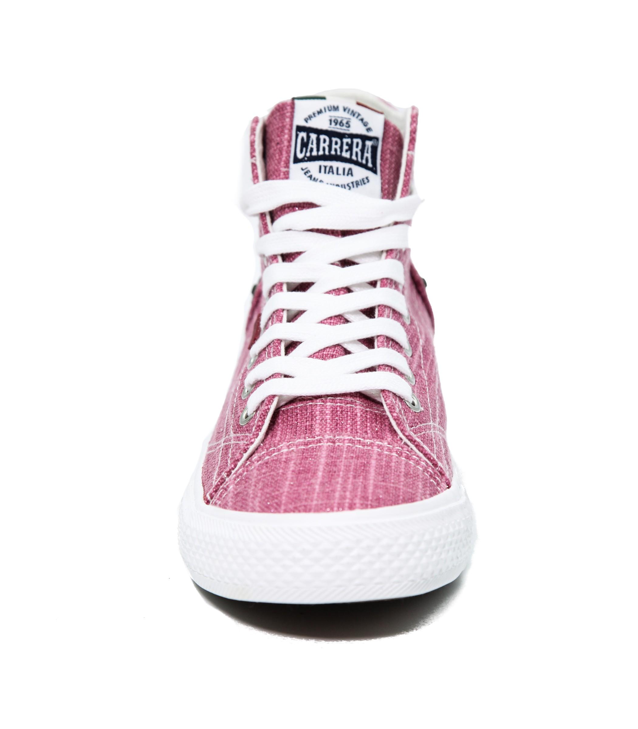 Sneakers Donna Alte Tela In Rosa Da Wyzbw Scarpe Ginnastica Carrera ptxdpqwTZ