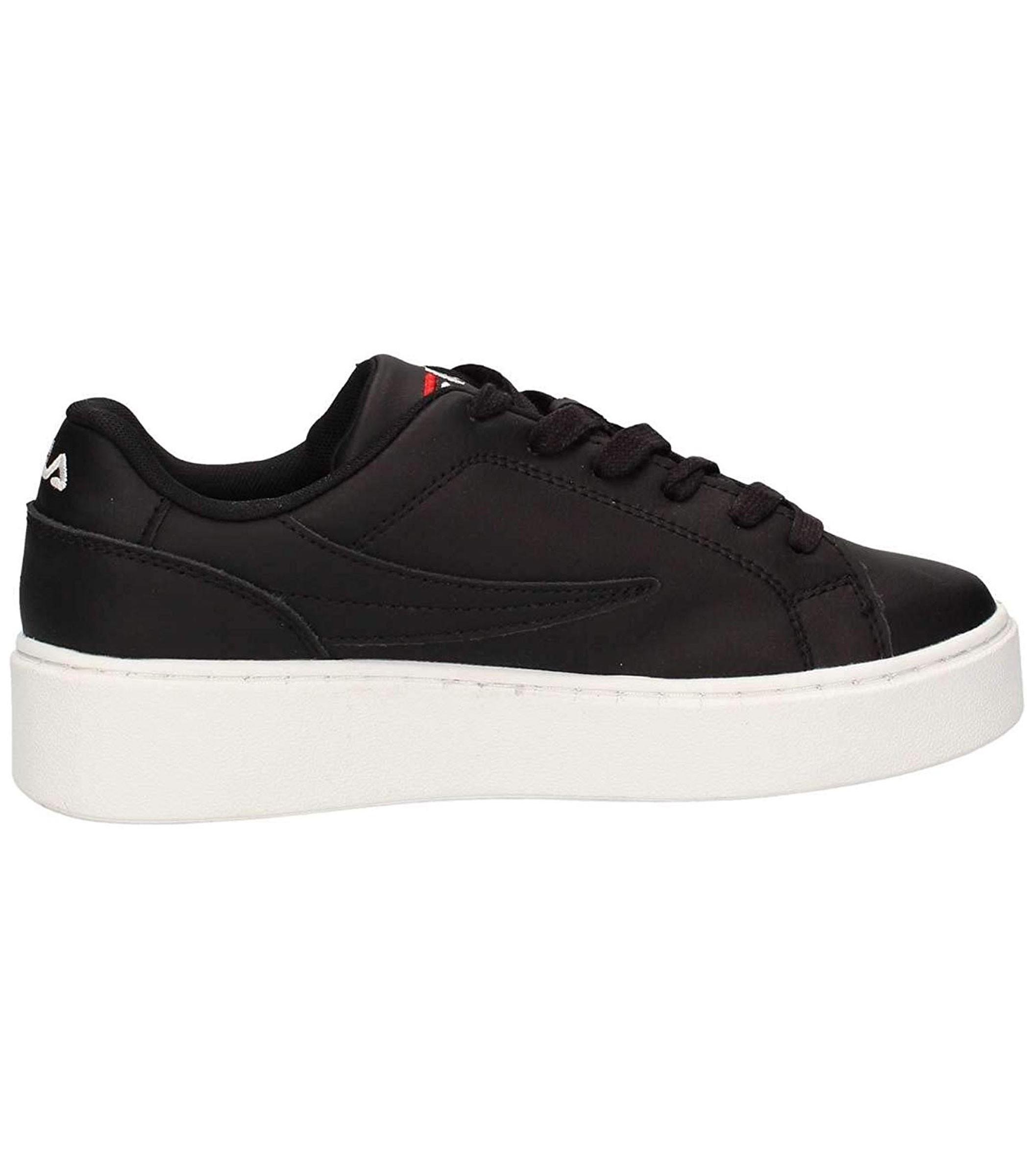 best sneakers d3db5 9c684 ... Scarpe Sneakers FILA Da Ginnastica in Pelle Nera Da Donna ...