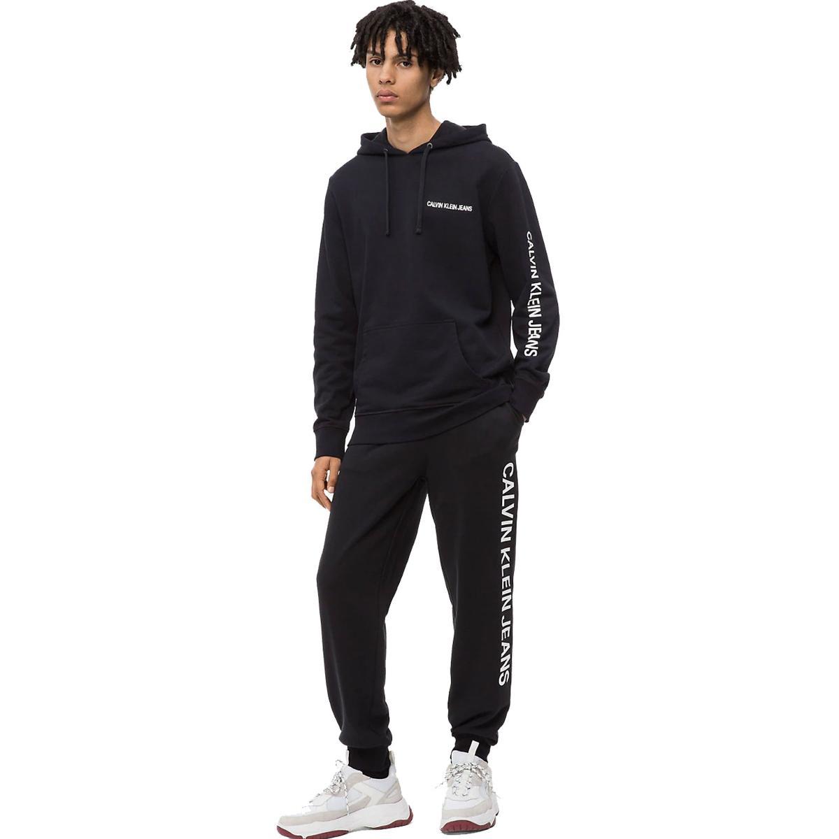 Pantaloni tuta con logo Calvin Klein da uomo rif. J30J309801