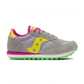 Scarpe Saucony Jazz Original Grey/Yellow Bambina rif. SK159611