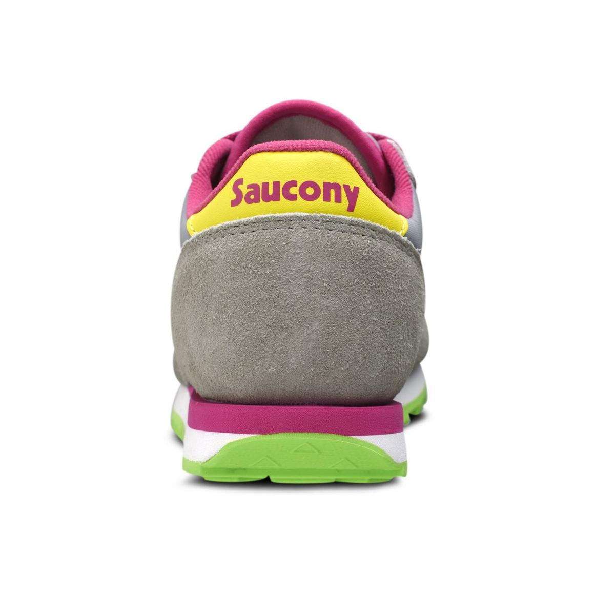Scarpe Saucony Jazz Original Grey/Yellow Bambino Unisex rif. SK159611Y