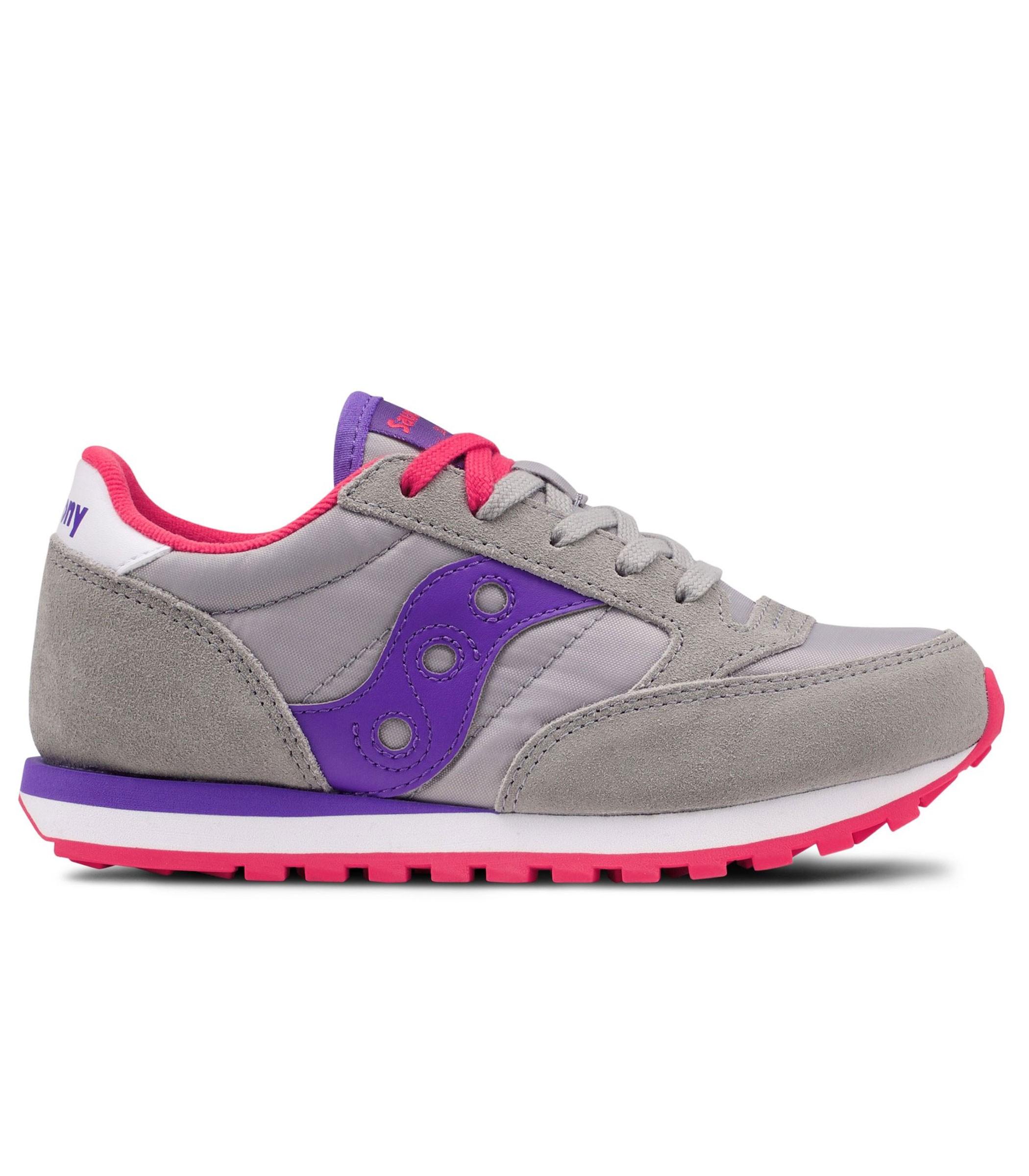 faa8b57012a9 Scarpe Saucony Jazz Original Grey Purple Young Unisex rif. SK159612Y