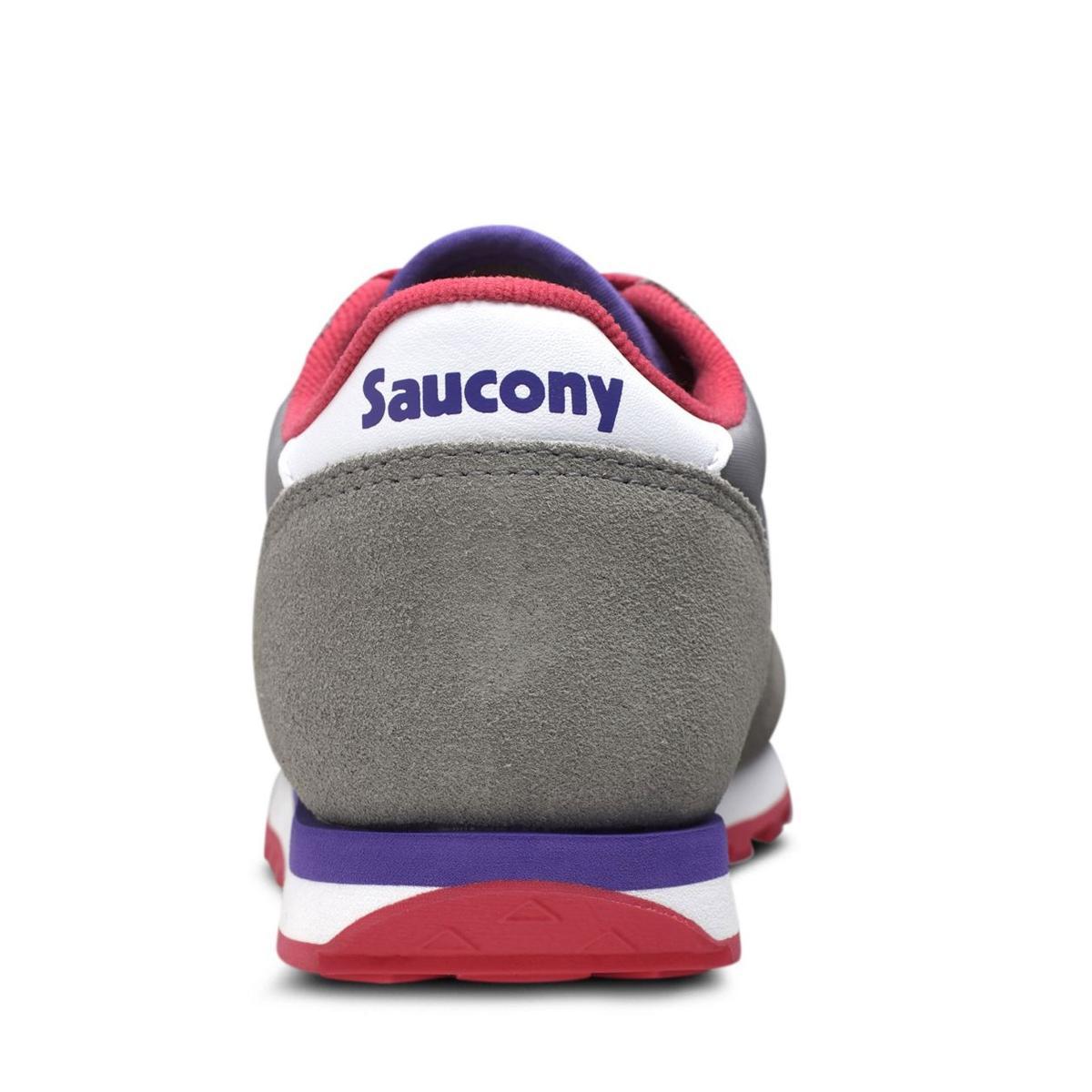 Scarpe Saucony Jazz Original Grey/Purple Ragazzo Unisex Young rif. SK159612Y