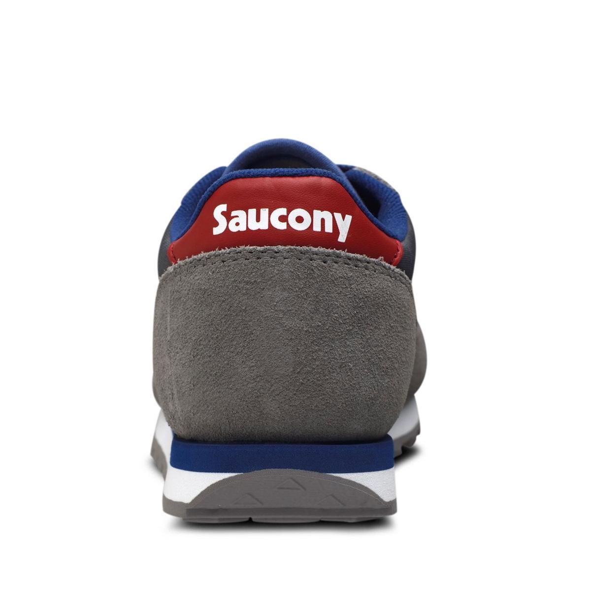 Scarpe Saucony Jazz Original Grey/Red Ragazzo Unisex rif. SK259608Y