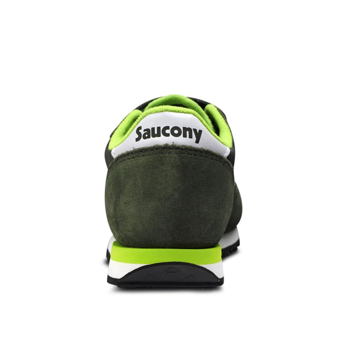 Scarpe Saucony Jazz Double HL Grn/White Bambino Unisex rif. SK25962