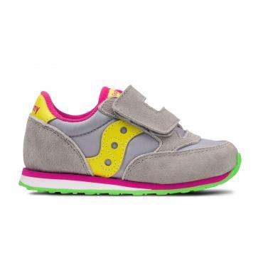 Scarpe Saucony Baby Jazz HL Grey/yellow Babino Unisex rif. SL159642