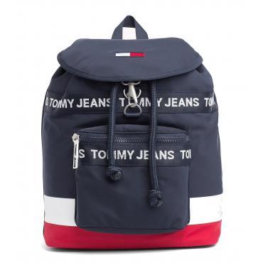 Zaino con nastro con logo Heritage Tommy Hilfiger Jeans Rif. AU0AU00248