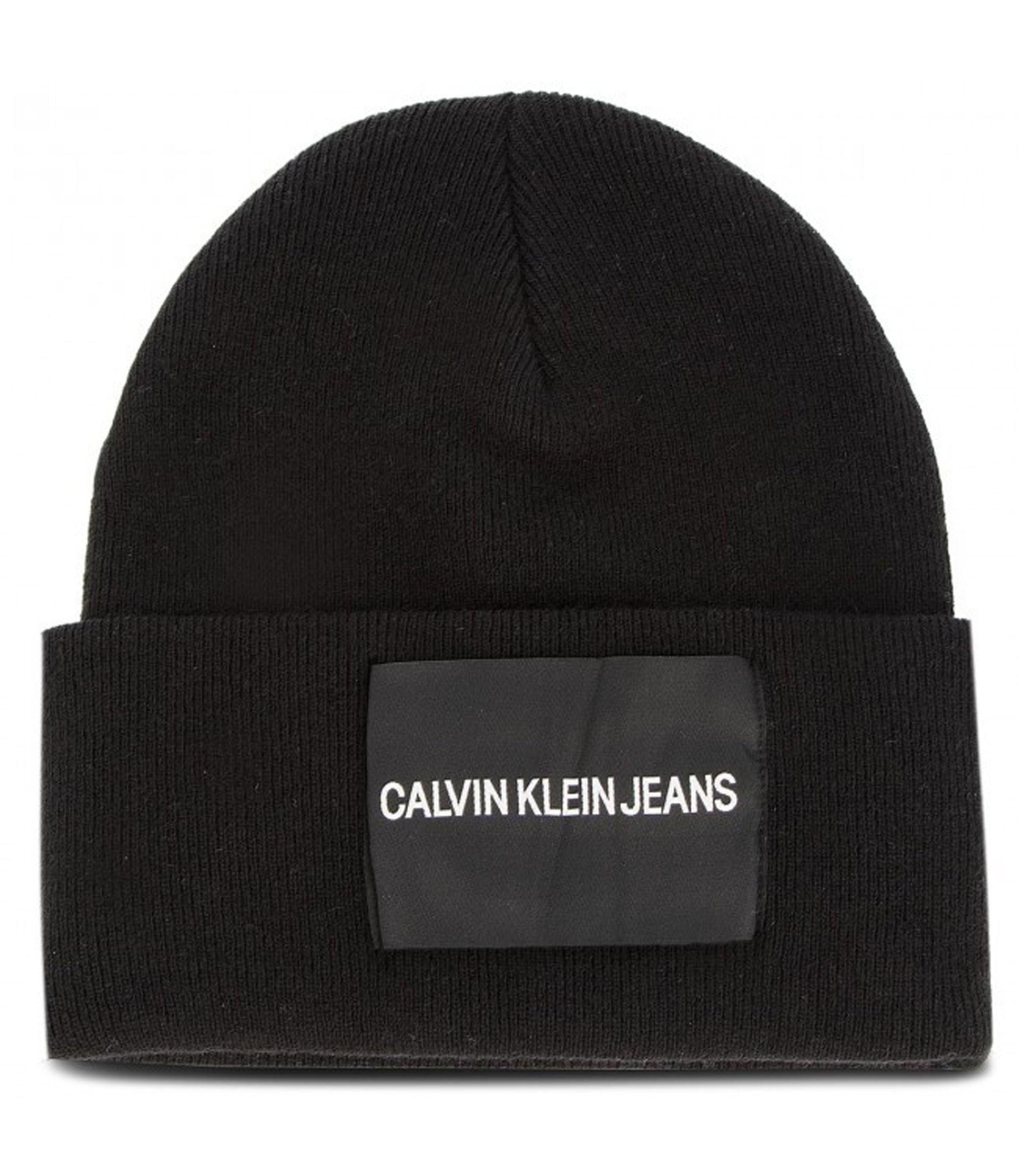 Berretto in misto lana con logo Calvin Klein Jeans unisex rif.K40K400759 6f10272374b4